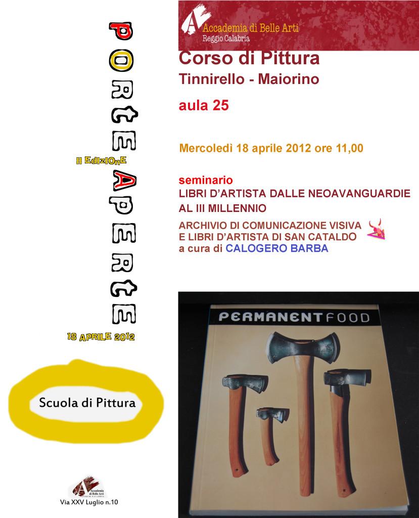 Seminario Accademia di Belle Arti di Reggio Calabria