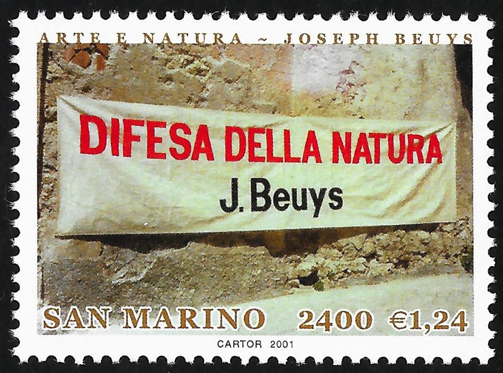 francobollo difesa natura